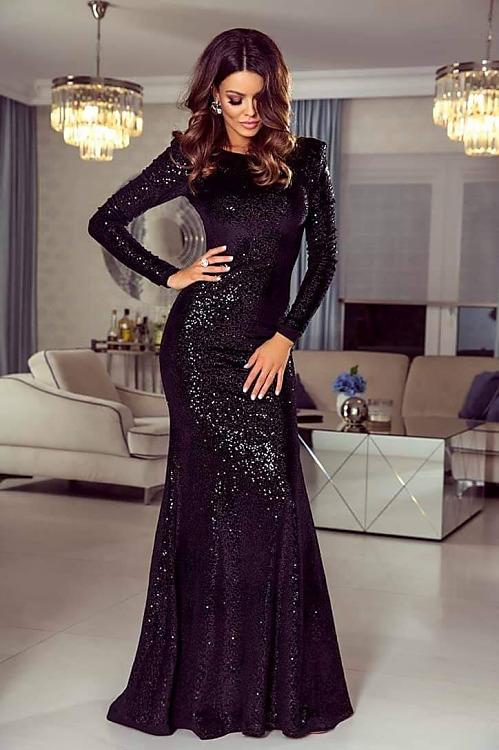bde95adf07eb Exkluzívne a neprehliadnuteľné šaty v čiernej farbe - Každý deň ...