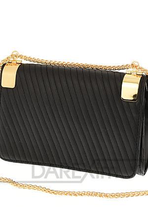 Elegantná prepracovaná kabelka so zlatou retiazkou d5268bdab7c